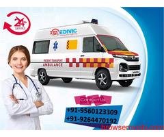 Choose Full Hi-tech Life-Support Ambulance Service in Darbhanga