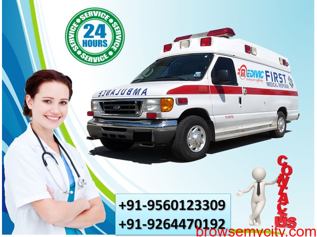 Gain the Safest Relocation by Medivic Ambulance Service in Gaya - 1/1