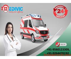 Book Medivic Ambulance Service in Muzaffarpur at a Very Genuine Cost