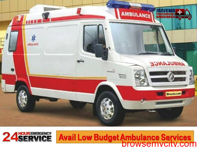 Obtain Ambulance Service in Ramgarh with Advanced Medical Unit - 1/1