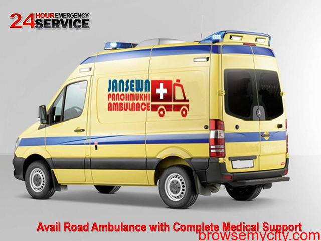 Book Ambulance Service in Gumla at Pocket Price - 1/1