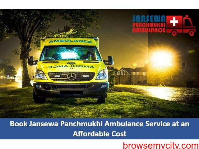 Hire Ventilator Ambulance in Saguna More with Medical Group - 1/1