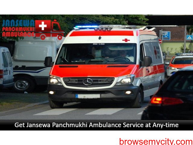 Book Ambulance Service in Danapur with Modern Medical Services - 1/1