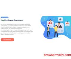 Hire Dedicated Mobile App Developer - Mobile App Development Company USA