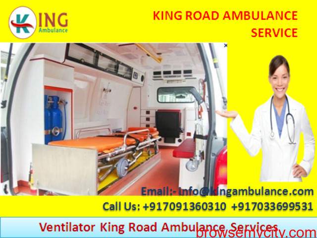 King Ground Ambulance Service in Koderma with Medical Amenities - 1/1