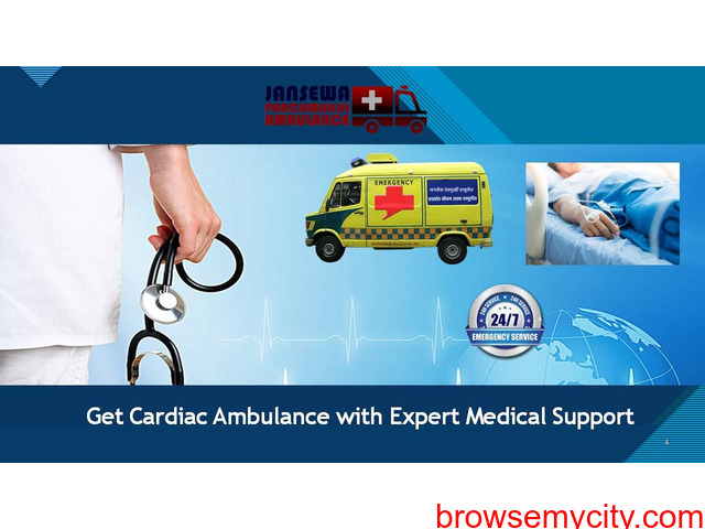 Avail Low Budget CCU Road Ambulance Service in Koderma - 1/1
