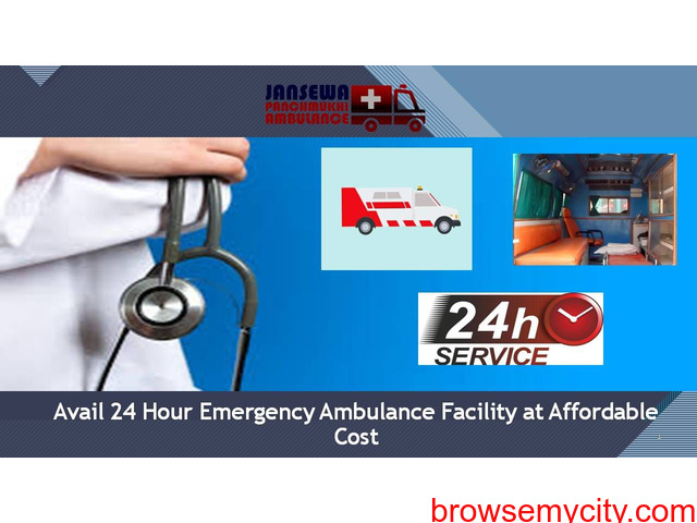 Book Newest ICU Configured Road Ambulance Service in Jamshedpur - 1/1