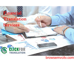 Easily Understand And Get The Best Banking And Financial Translation Services