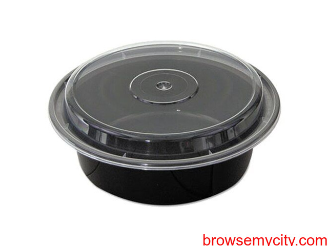 Round Containers with Lids - 3/3