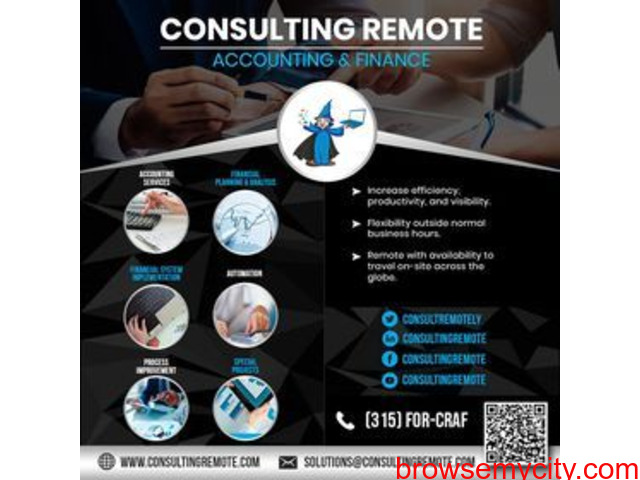 Management Consulting Services    Accounting & Finance Consulting - 1/1