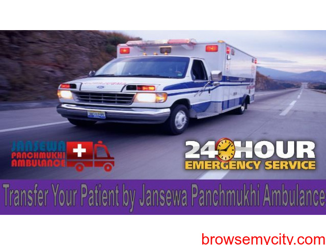 Select  Ambulance in Kidwaipuri with Well-Trained Medical Staff - 1/1