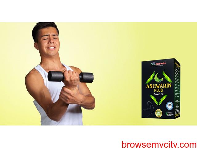 Ashwarin Plus Powder - Best Weight Gain Powder For Skinny Male - 1/1