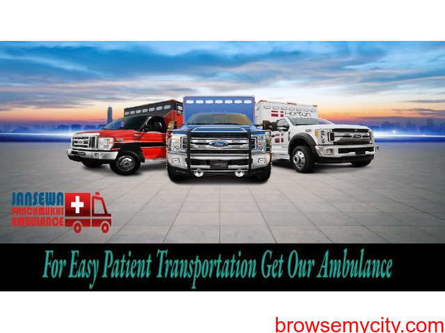 Hire Ambulance Service in Kumhrar with Complete Medical Care - 1/1