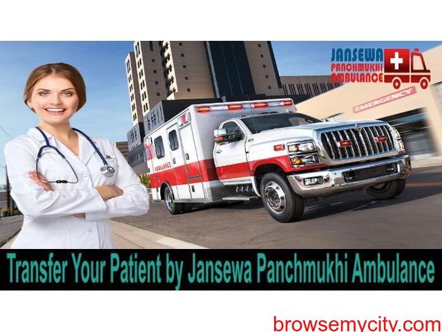 Utilize Ambulance Service in Adarsh Nagar on a Low-Budget - 1/1