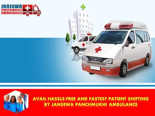 Avail Comfortable Patient Shifting from Patna by Jansewa Panchmukhi Ambulance - 1/1
