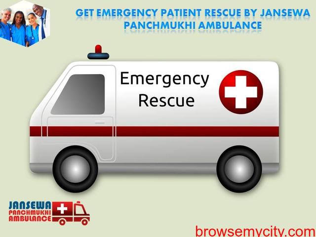 Take India's Top Grade  ICU Ambulance Service in Kurji - 1/1