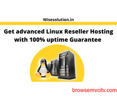 Get advanced Linux Reseller Hosting with 100% uptime Guarantee
