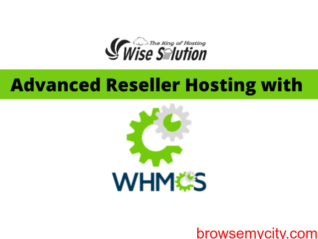 Get unlimited reseller hosting with WHMCS at cheapest price - 1/1
