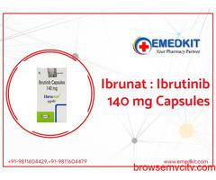 Ibrutinib 140 mg Capsule Price in India - Emedkit