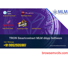 Tron Trx Smart Contract MLM Dapp Software-MLM software chennai