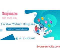 Creative Website Designing from best website designer in Delhi