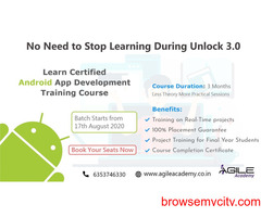 Learn Android Training Course from the Leading IT Training Institute - Agile Academy