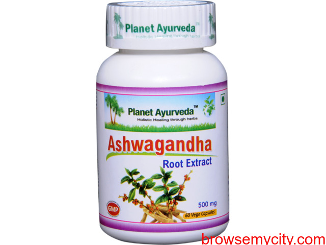 Ashwagandha Capsules - Herbal Remedy for Stress and Anxiety - 1/1