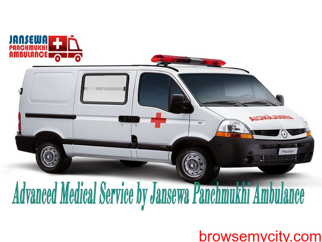 Choose Ambulance Service in Vasant Kunj with Special Medical Treatment - 1/1
