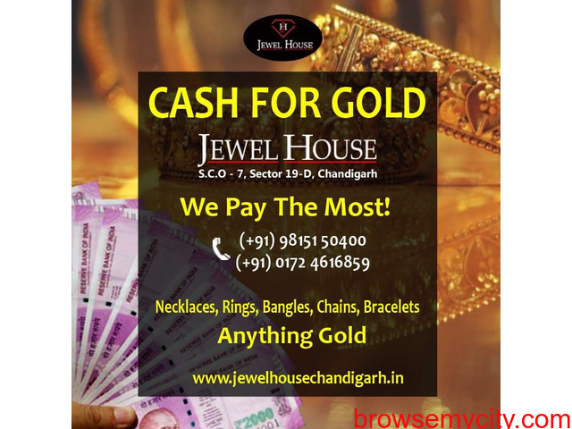 Cash For Gold - Sell Gold for Instant Cash | JEWEL HOUSE - 1/2