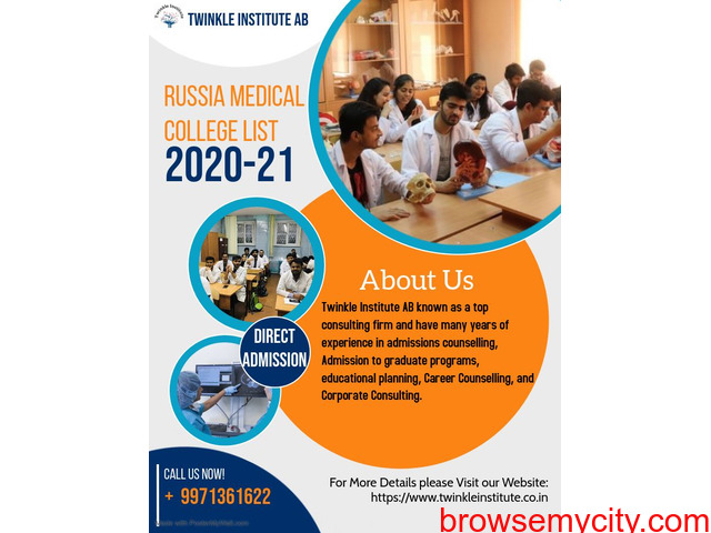 Russia Medical College 2020-21  Twinkle InstituteAB - 1/1