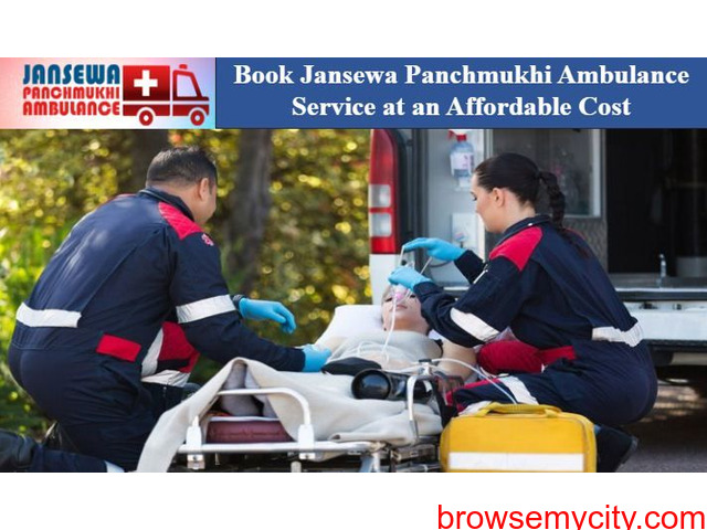 Get Ambulance in Nehru Place with Paramedical Staff - 1/1