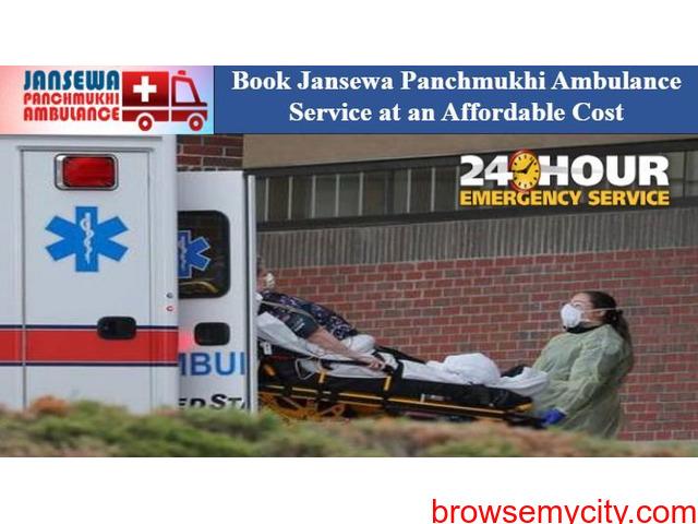 Utilize Ambulance Service in Mayur Vihar with Proper Medical Care - 1/1