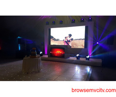 Hire LED Wall in Hyderabad | Starting from  ₹6000 Onwards