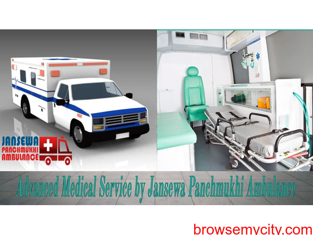 Avail Ambulance Service in Mangolpuri with Reliable Medical Services - 1/1