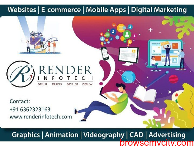 RENDER INFOTECH: Best Website and App development company in bangalore - 2/6