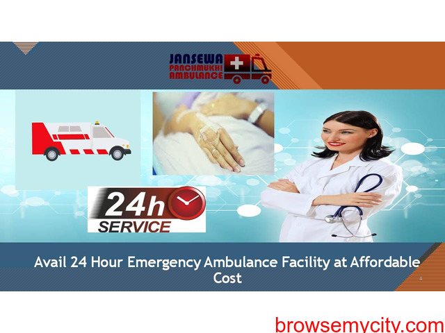 Avail Well Equipped ICU Ambulance Service in Samastipur - 1/1