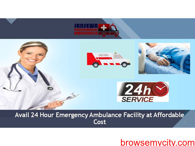 Receive Ambulance Service in Hazaribagh with Incomparable Healthcare Support - 1/1