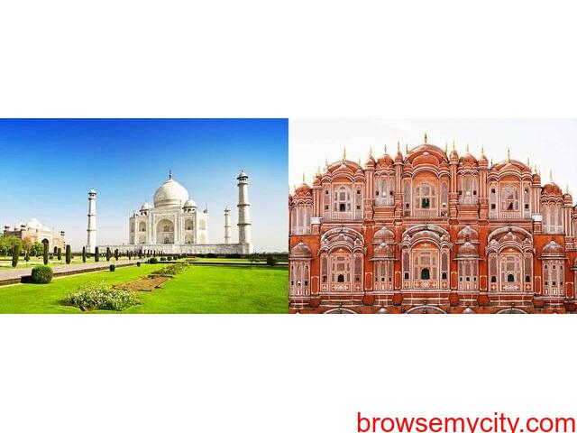 Heritage of Agra & Jaipur to Bharatpur Sanctuary. - 1/1