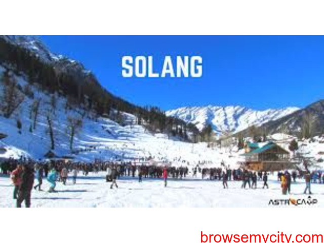 SOLANG VALLEY HOLIDAY TOUR WITH COUPLE. - 1/1
