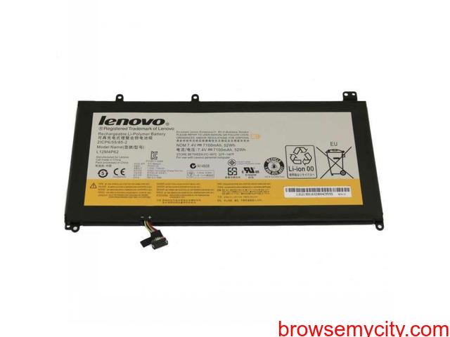 Batterie originale Lenovo 121500163, 2ICP6/55/85-2, 2ICP6/55/85-2 7.4V 7100mAh - 1/1