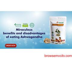Miraculous benefits and disadvantages of eating Ashwagandha