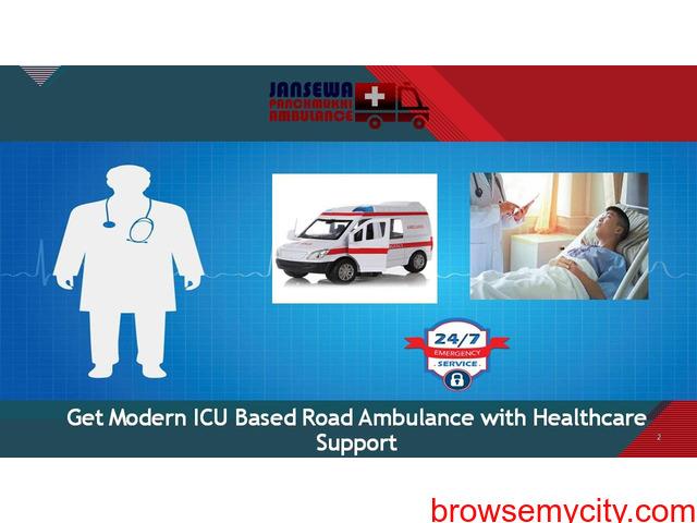 Avail Exalted-Level Cardiac Ambulance Service in Bhagalpur - 1/1