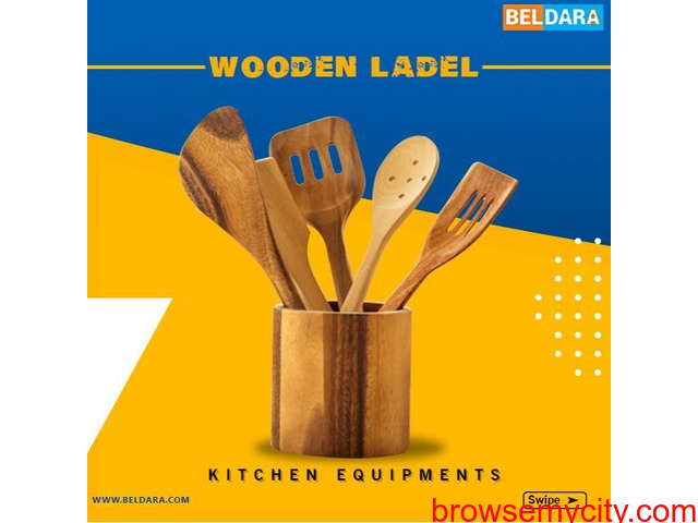 Get wooden ladel Kitchen Equipment with 100% Payment Protection - 1/1