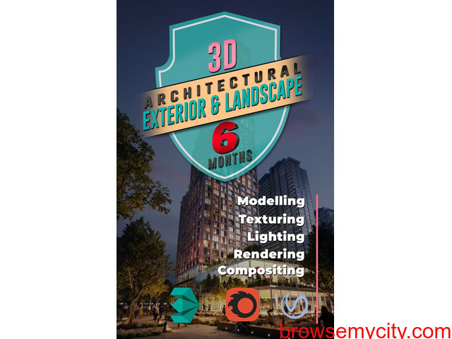 Architecture Exterior Rendering and Landscape Design Courses online - Learning with YAIT (Live Tutor - 1/1