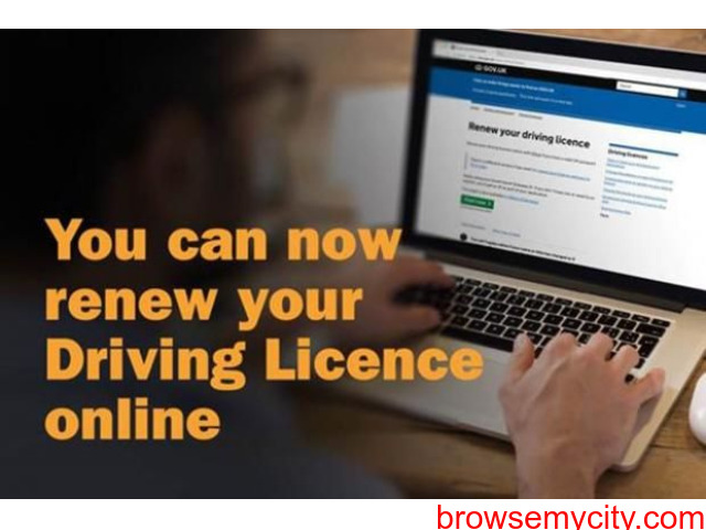 Online renew driving licence before expiry date - 2/4