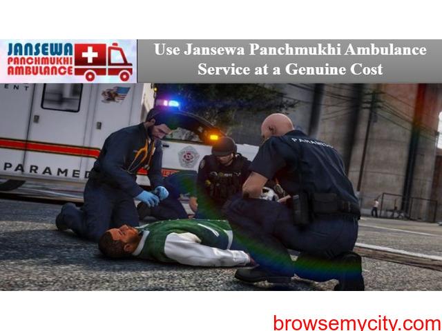 Book Jansewa Panchmukhi Ambulance in Patna with ICU Medical Setup - 1/1