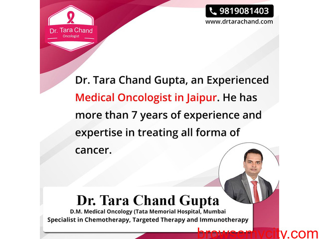 Get An Appointment With Medical Oncologist In Jaipur - 1/1