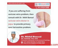 Get The Best Consultation With Varicose Veins Doctor In Jaipur.