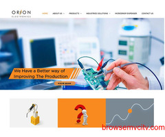 Contact Welding Automation System Provider in India - Orion Electronics