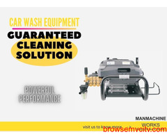 The authentic car wash equipment services that you can trust